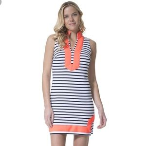 New•Sail to Sable•Striped Knit Sleeveless Dress